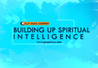 24/7 DOXA Content 2019 TUESDAY, 16th April BUILDING UP SPIRITUAL INTELLIGENCE