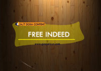 24/7 DOXA Content 2019 SATURDAY, 20th April-FREE INDEED