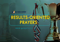 24/7 DOXA Content 2019 FRIDAY, 12th April   RESULTS-ORIENTED PRAYERS