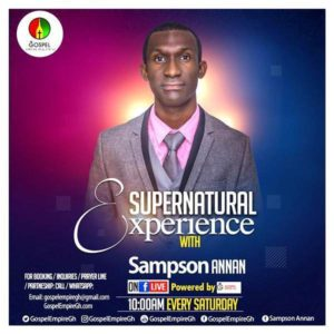 Sampson Annan - Supernatural Experience