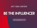 24/7 DOXA Content 2019 MONDAY, 28th October -BE THE INFLUENCER