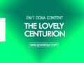 24/7 DOXA Content 2019 TUESDAY, 26th November-THE LOVELY CENTURION