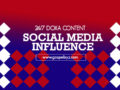 24/7 DOXA Content 2020- Wednesday, 8th January-SOCIAL MEDIA INFLUENCE