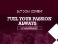 24/7 DOXA Content, 11th February-FUEL YOUR PASSION ALWAYS