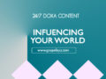 24/7 DOXA Content, 4th April-INFLUENCING YOUR WORLD