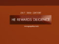 24/7 DOXA Content, 23rd June-HE REWARDS DILIGENCE