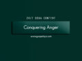 24/7 DOXA Content, 18th November-CONQUERING ANGER