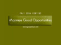 24/7 DOXA Content, 17th November-MAXIMIZE GOOD OPPORTUNITIES