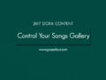 24/7 DOXA Content, 7th January-CONTROL YOUR SONGS GALLERY
